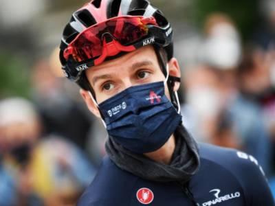"""Giro di Lombardia, Adam Yates: """"Abbiamo corso come volevamo, altri sono stati più forti. Il podio è comunque un buon risultato"""""""
