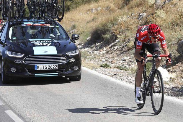 Ciclismo sotto shock: Froome positivo