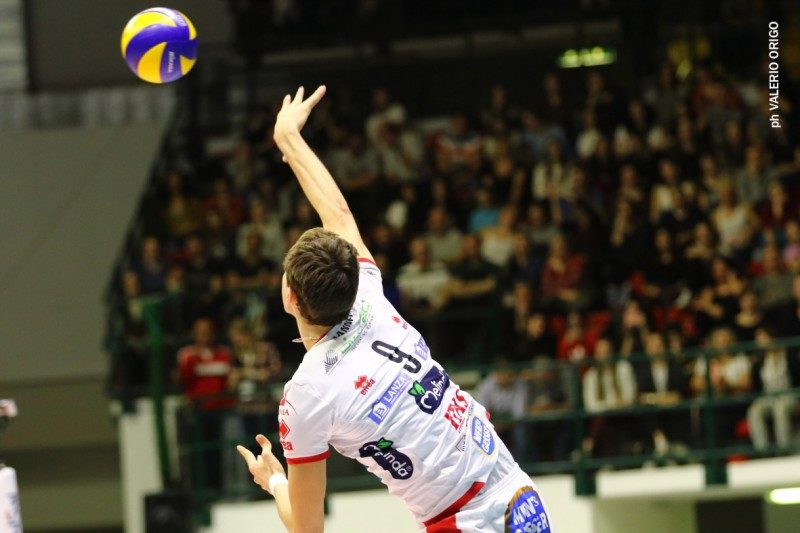 Sir sconfitta da Trento in Supercoppa