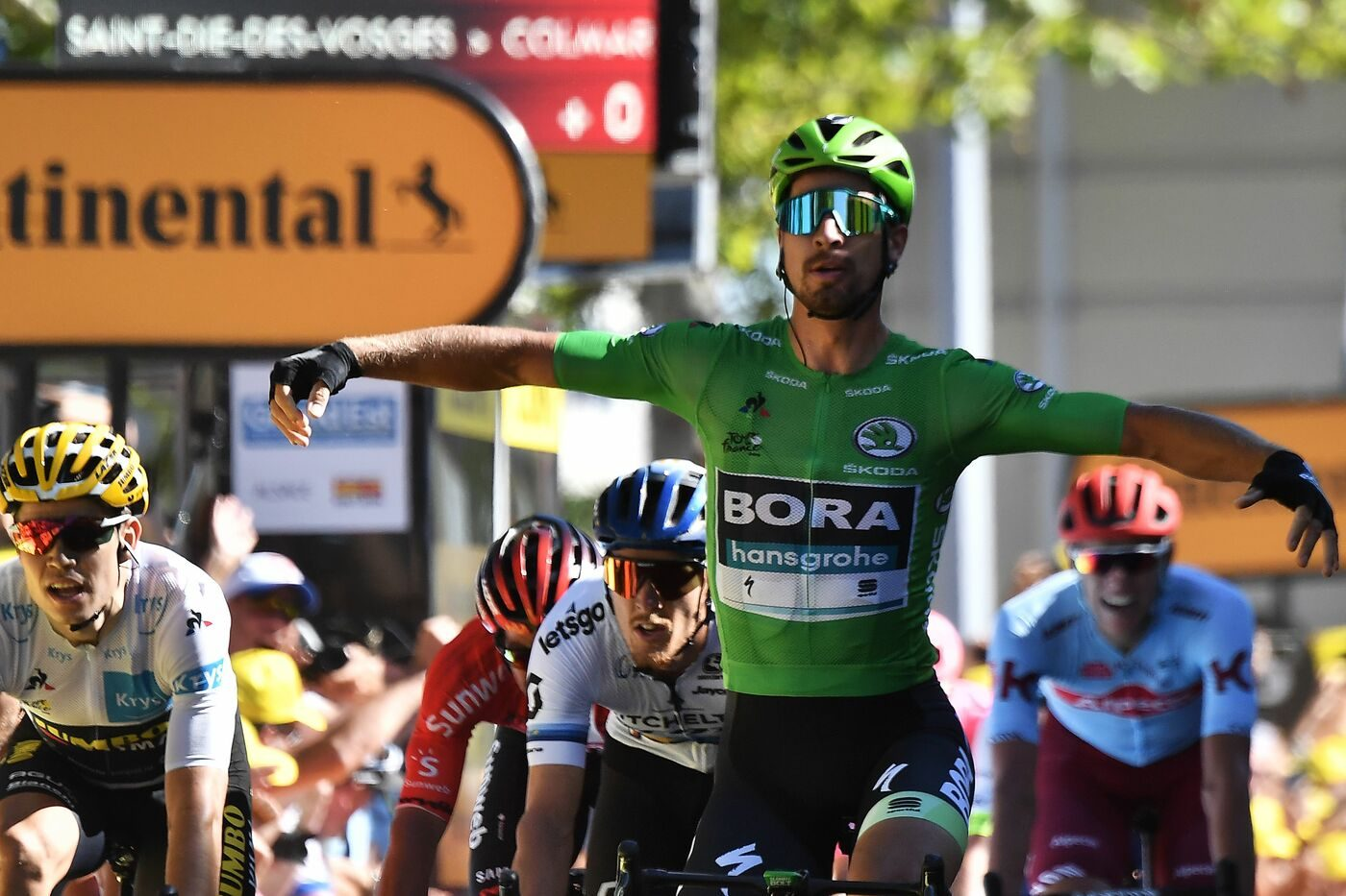 Primo sigillo di Peter Sagan al Tour 2019