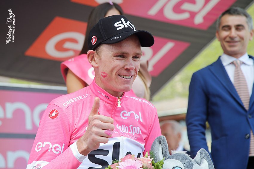 Giro, Froome in trionfo: