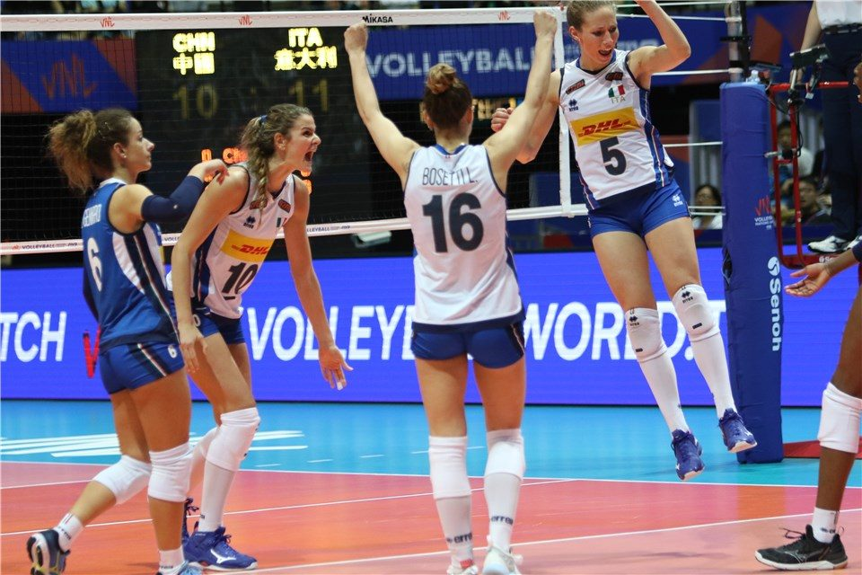 Calendario Final Six Volley.Volley Femminile Final Six Nations League 2019 Il