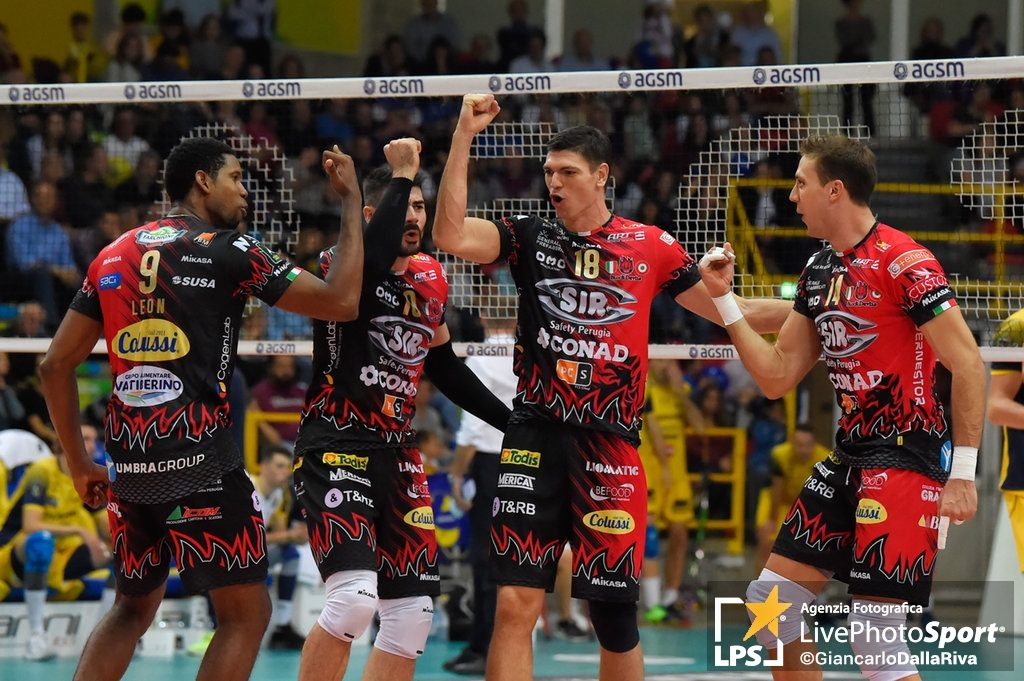 Volley, Lube sconfitta in casa da Perugia (0-3)